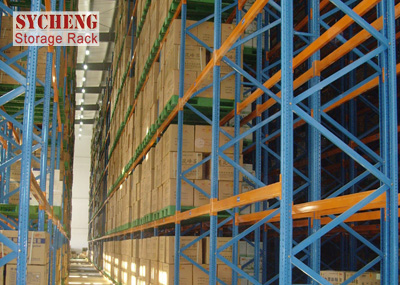 Three-Dimensional Warehouse Rack