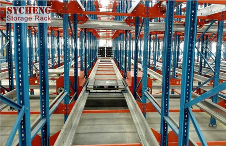 Radio Shuttle Pallet Rack